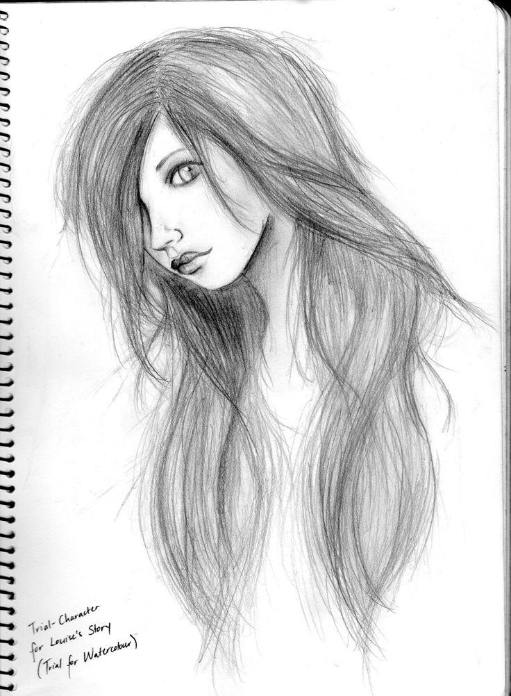 pencil drawing sketch easy drawings faces sketches face simple google shading draw sketchy drawingartpedia mate broken deviantart chapter crying forward