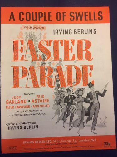 A #couple of swells, m.g.m presents #easter #parade 1947 by irvin berlin ,  View more on the LINK: http://www.zeppy.io/product/gb/2/222323437883/