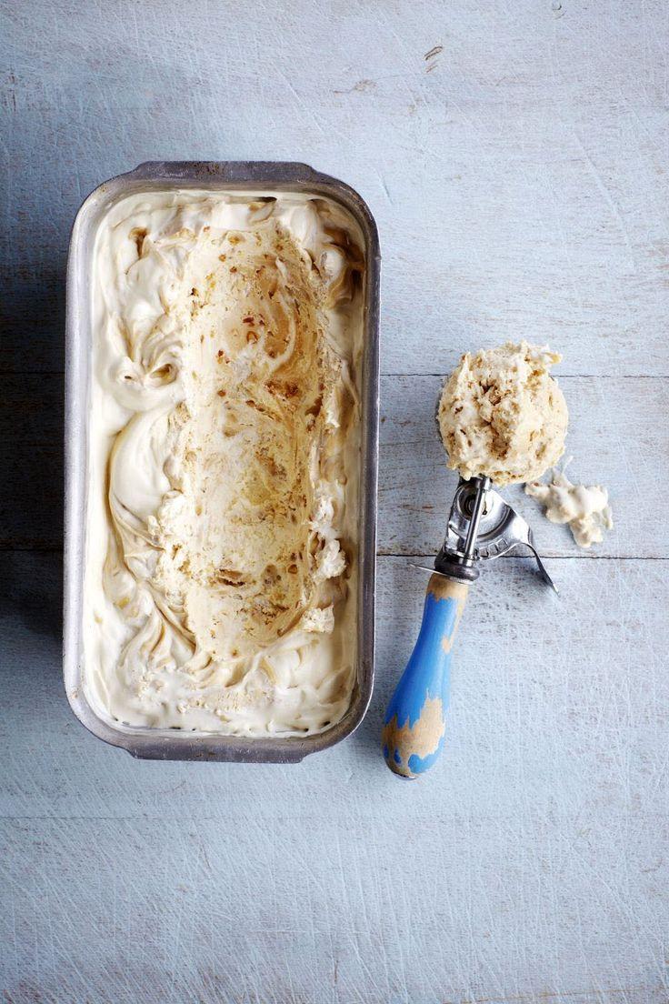 Peanut butter ripple ice cream