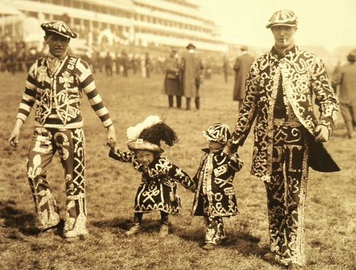 Pearly Kings at the Epsom Derby, 1914 | Flickr