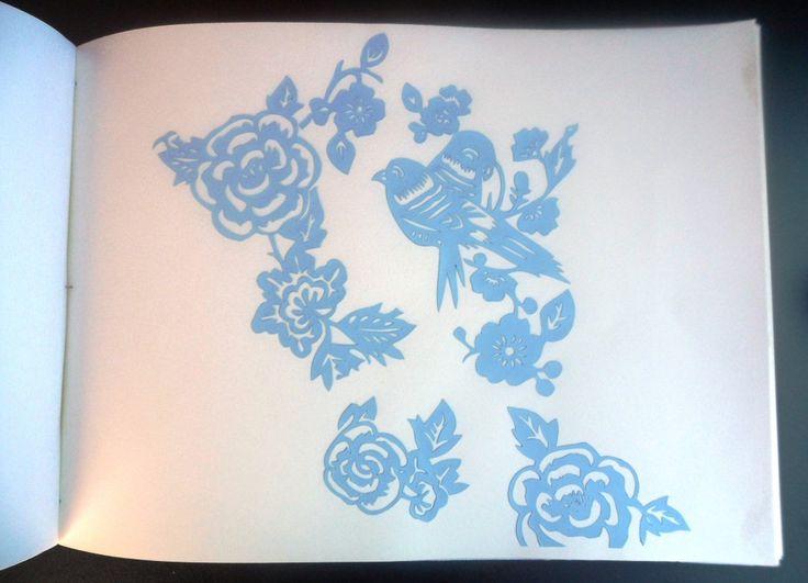 intaglio decorativo album matrimonio /  decorative carving wedding album