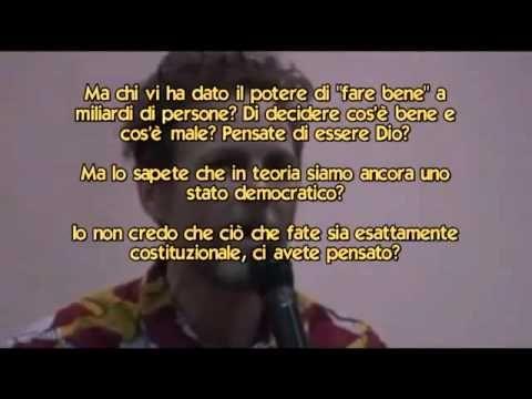 DIscorso Shock di Jovanotti all'università di Firenze tra  Illuminati & ...