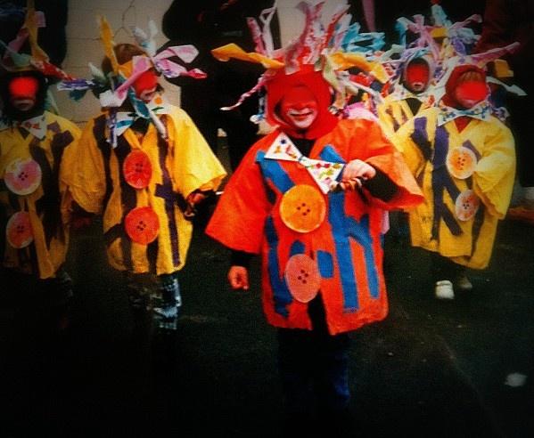 déguisement clown chez Isa
