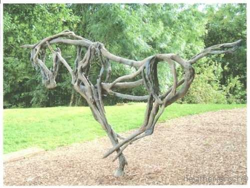46 best sculpture iconic images on pinterest Driftwood sculptures for garden
