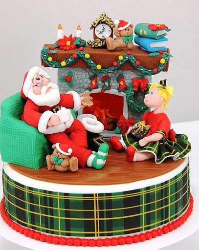 Viorica's cakes Christmas