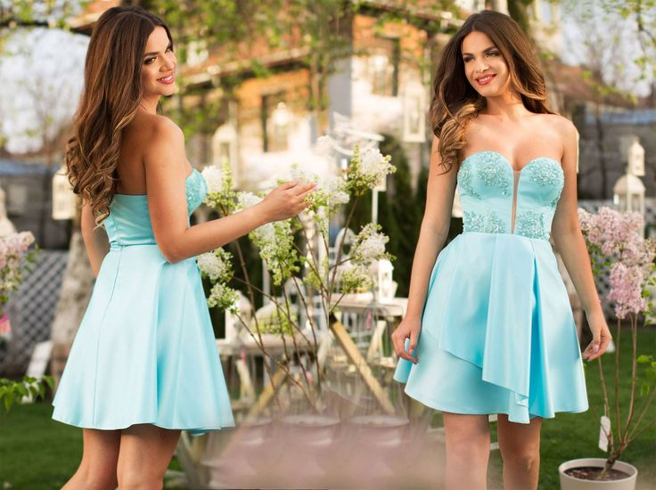 Short occasion dress with precious lace and taffeta in turquoise shades: https://missgrey.org/en/dresses/short-occasion-dress-with-turquoise-taffeta-and-precious-embroidery-joy/527?utm_campaign=aprilie&utm_medium=rochie_joy_turcoaz&utm_source=pinterest_produs
