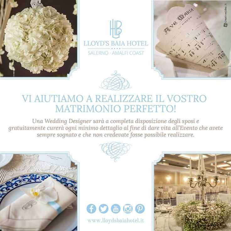 CERIMONIE IN GRANDE STILE www.lloydsbaiahotel.it #wedding #matrimonio #location
