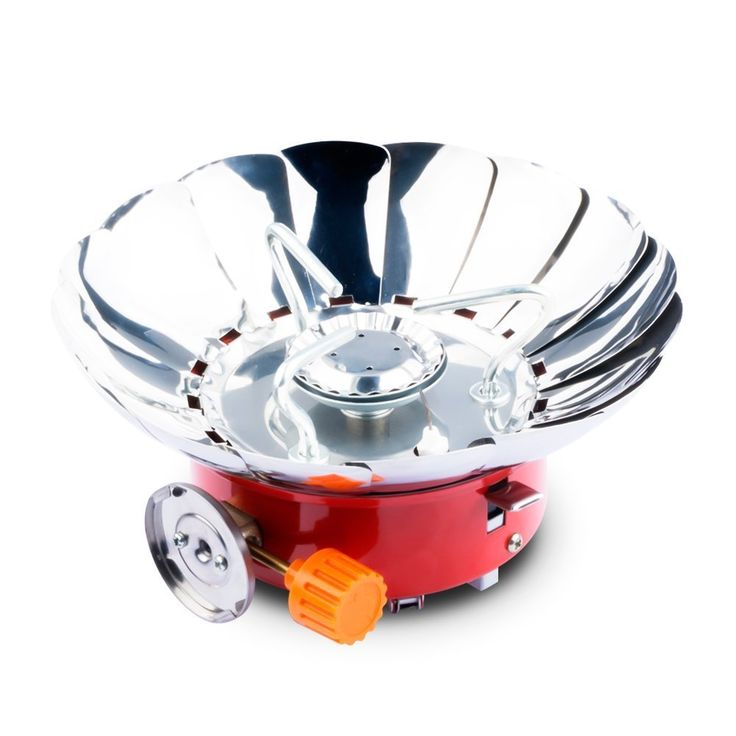 [The Newest Version-Wireless Camping Stove]TFDirect Portable Collapsible Lotus Windproof Outdoor Backpacking Gas Camping Stove * Quickly view this special outdoor item, click the image : Camping equipment