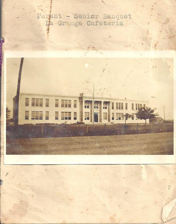 LaGrange High School About 1934 Taken from a graduation ceremony program