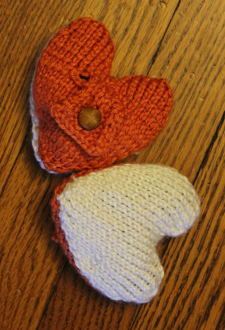 106 best Heart Knitting Patterns images on Pinterest | Knit patterns ...