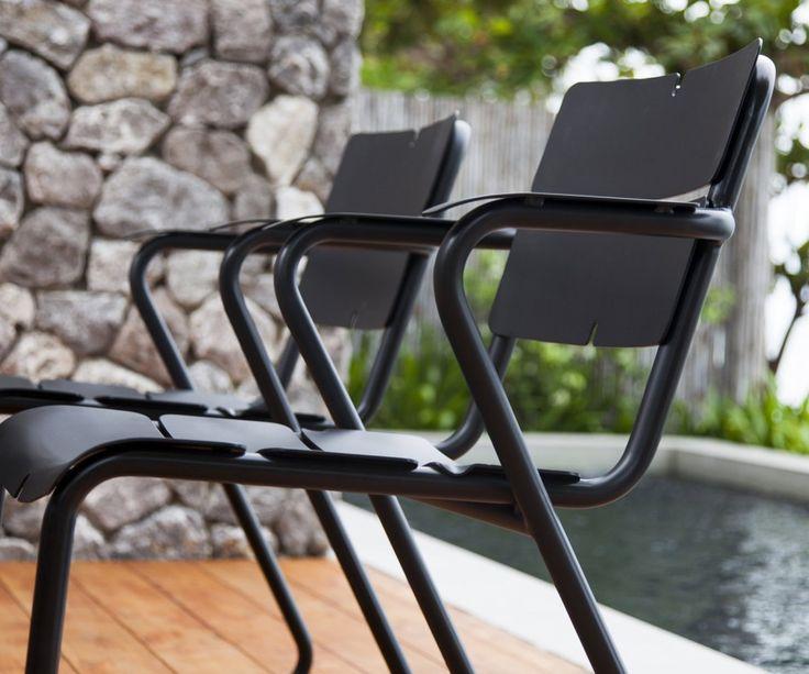 Erstaunlich Oasiq Corail Aluminium Stuhl Mit Armlehnen