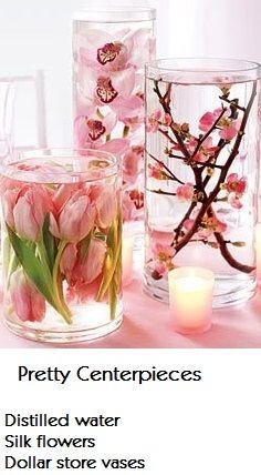 Tischdeko frühlingsblumen im glas  110 besten Blumen Deko, mit viel Wasser Bilder auf Pinterest ...