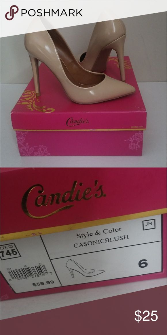 CANDIES Women's Nude Pumps Size 6 New without box Candie's Shoes Heels