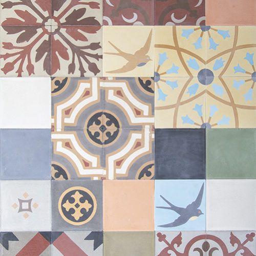 Cement Decor Floor Tiles - Cementine Concrete creations by pavimentisansone.it