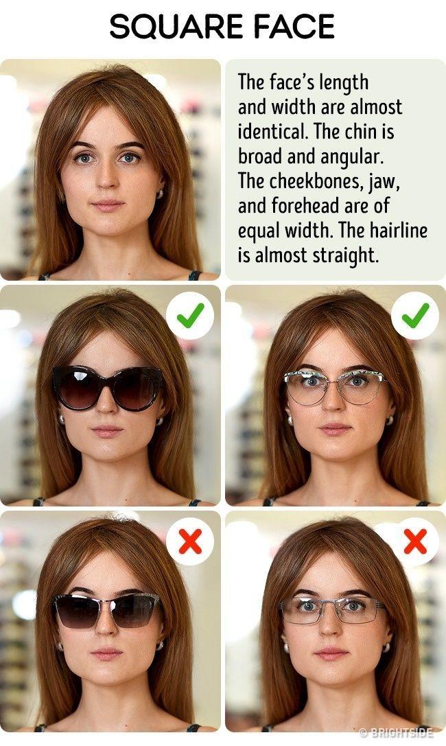 How To Pick The Perfect Sunglasses For Your Face Type Mana Vietne Brille Gesichtsform Brillen Rundes Gesicht Gesicht