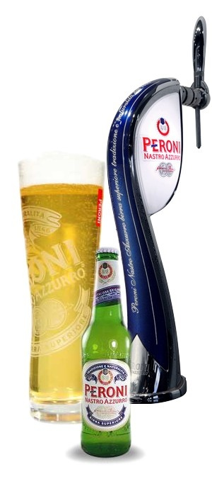 .... beer. There's so many great world beers I've tried and still so many I haven't. But there's nothing quite as satifying as drinking an ice cold Italian Peroni... or a few. The glass is great and it's a beer you can enjoy with a meal or out down the pub. If I had to choose a beer for it's crisp, refreshing taste and pure style, it would be Peroni Nastro Azzurro.