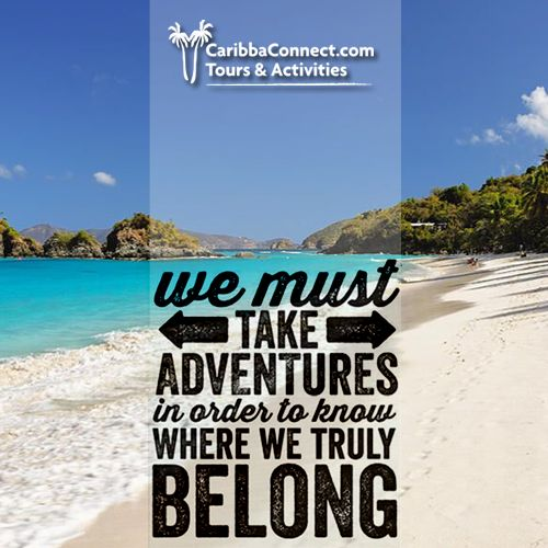 So what are you waiting for? Go out and explore somewhere new.  #explore #adventures #vacation #CaribbaConnect
