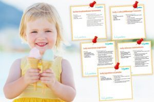 5 przepisów na pyszne domowe lody dla dziecka – do druku