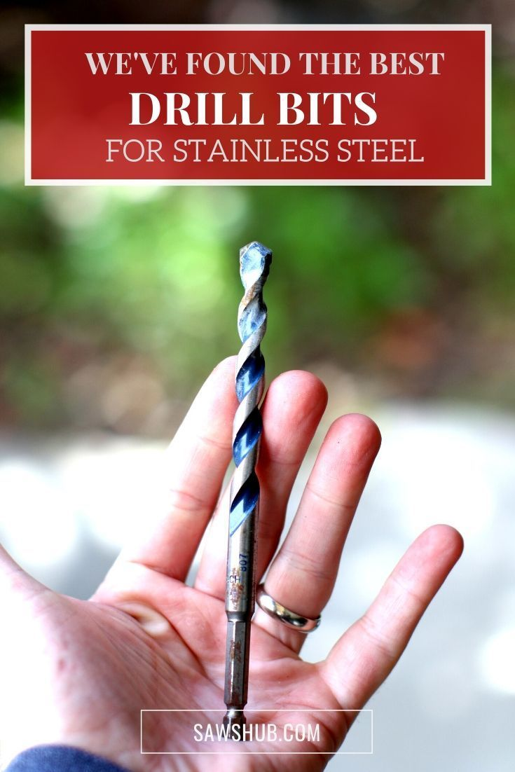 Best Drill Bit For Stainless Steel 2020 Review Drill