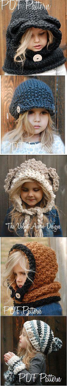Классные детские вязаные шапочки (идеи для опытных мастериц)   ДОМАШНИЙ ОЧАГ