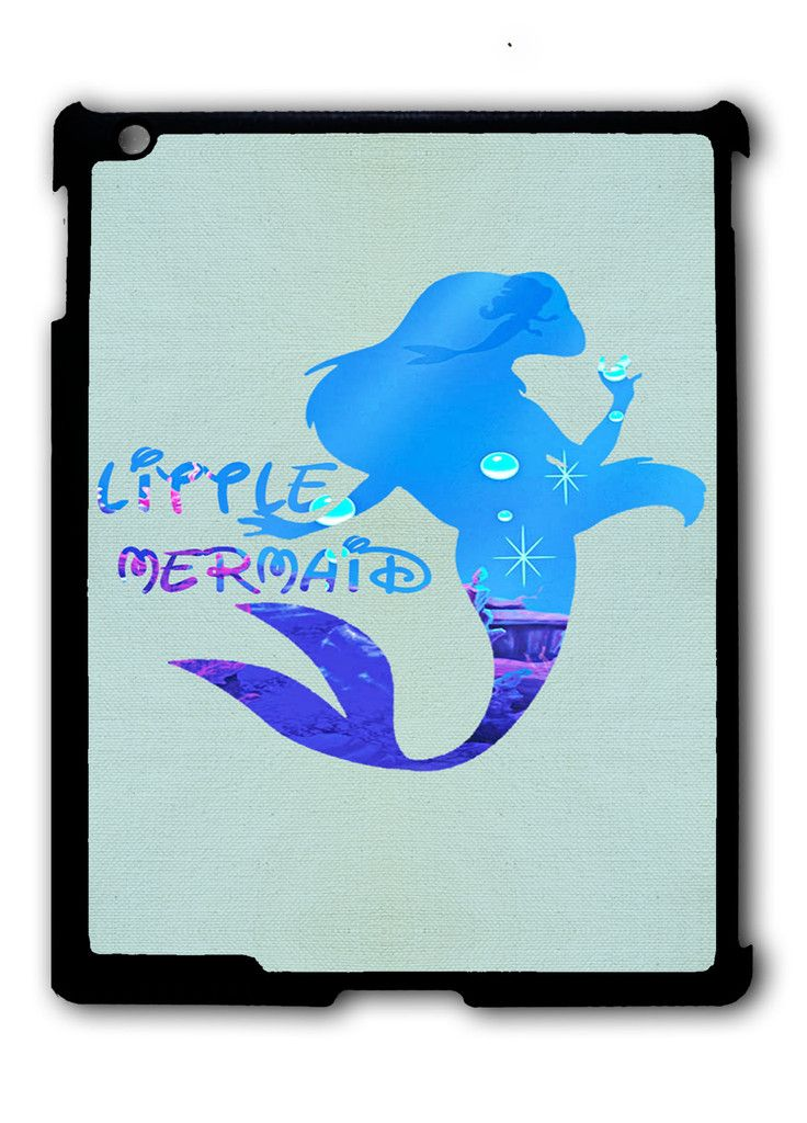 Ariel Quote Little Mermaid Disney iPad case, Available for iPad 2, iPad 3, iPad 4 , iPad mini and iPad Air