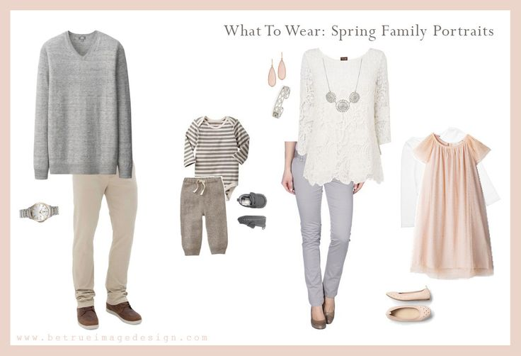 Spring Photo Session Wardrobe Inspiration by Wake Forest photography studio Be True Image Design, specializing in soft, organic portraiture for the family.