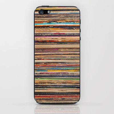 Vinyl iPhone & iPod Skin by Elle Moss - $15.00
