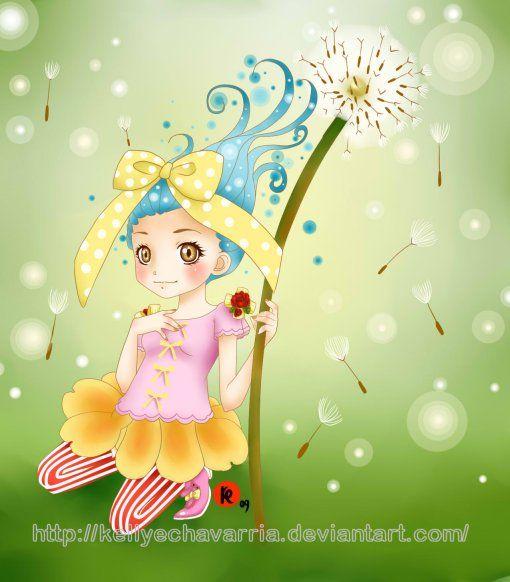 Elf flower by KellyEchavarria.deviantart.com on @deviantART