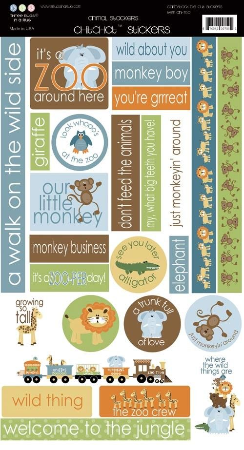 Restocked! Scrapbooking for Less - 3 Bugs In A Rug Cardstock Stickers - Animal Stackers, $1.50 (http://www.scrapbooking-for-less.com/3-bugs-in-a-rug-cardstock-stickers-animal-stackers/)