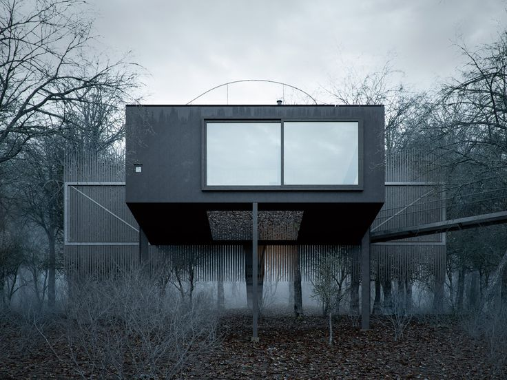 Mask House by WOJR House for a grieving man