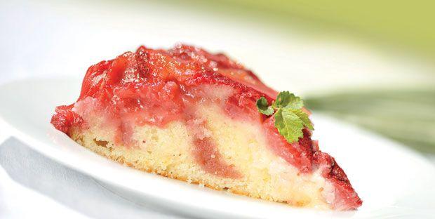 Renversé aux fraises