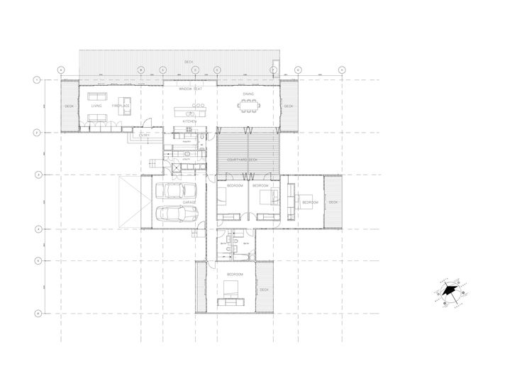 Image 8 of 8 from gallery of Farmhouse / RTA Studio. Floor Plan