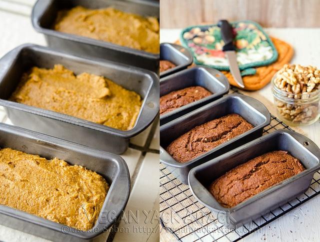 Image Result For Vegan Pumpkin Bread