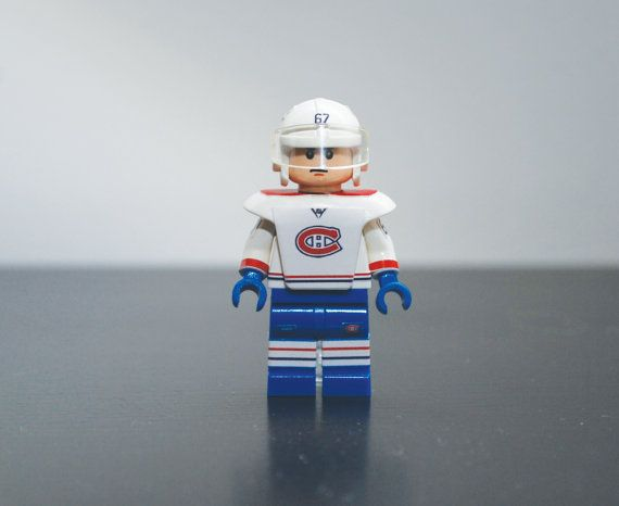MAX PACIORETTY Montreal Canadiens Custom LEGO by MiniMenCo on Etsy, $28.99