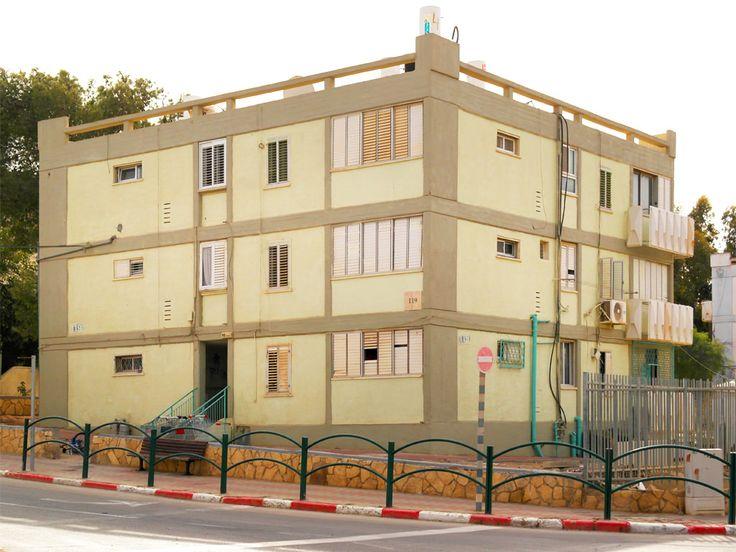 Mitzpe Ramon (מצפה רמון), Israel - Architecture