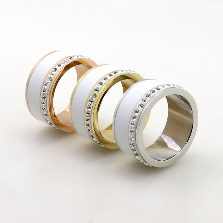 Find More Rings Information about Luxury Jewelry 11mm Size 6 10 Women Men Stainless Steel Lady Band Ring White Ceramic Bling Bling Ladies Band Rings,High Quality ring lucky,China ring cute Suppliers, Cheap jewelry ring holder from LOVE ZM Jewelry on Aliexpress.com