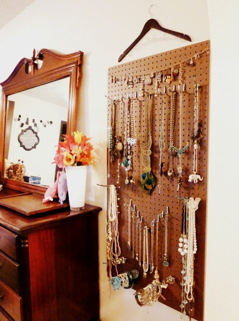 1000 Images About Jewelry Organization Pegboard Ideas On