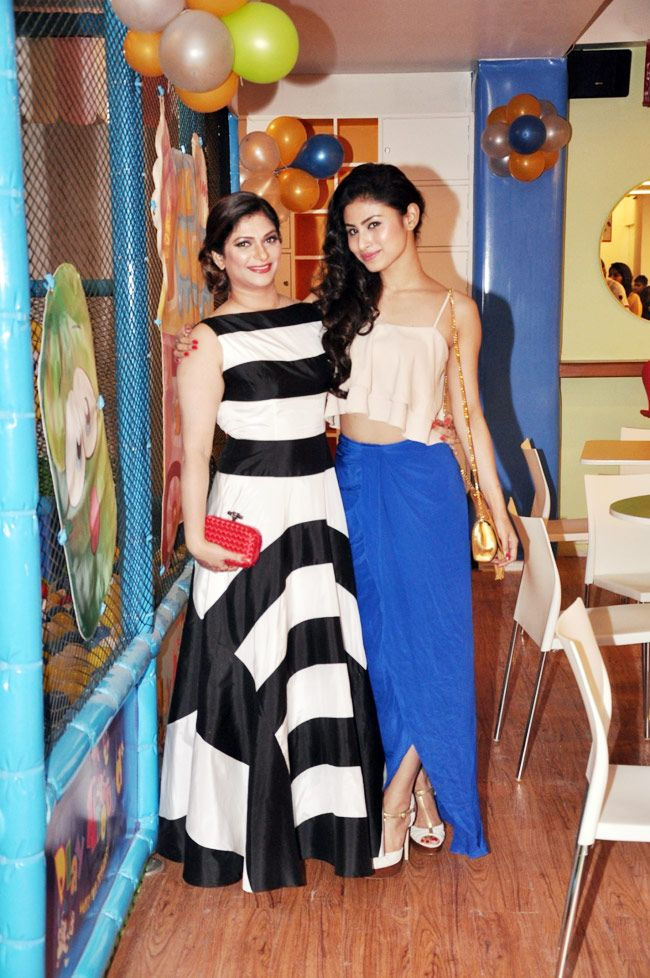 Suhana Sinha and Mouni Roy at Kids Zone. #Bollywood #Fashion #Style #Beauty