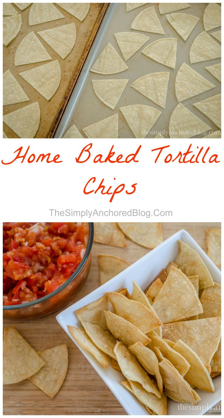 Home Baked Tortilla Chips 21 Day Fix approved!