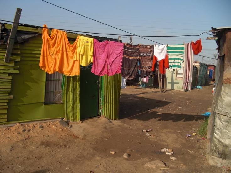 See the shantytowns of Africa #ridecolorfully