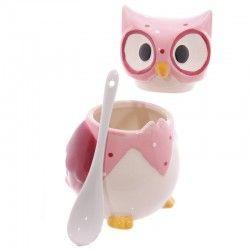Cukierniczka różowa sowa
