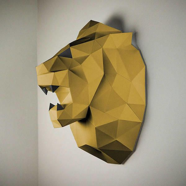 Low Poly Animal Wall Trophies Look 10x Better Than The
