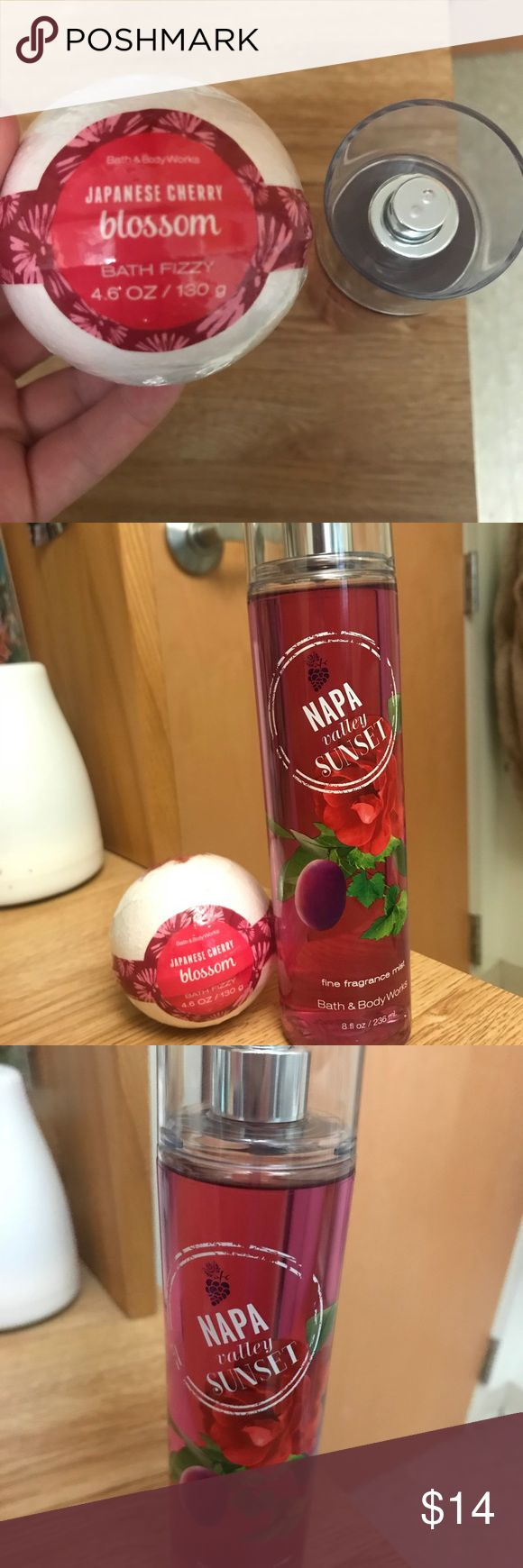 Napa Valley Sunset Perfume & Japanese bath bomb Perfume and bath bomb (can be sold separately) Lush Accessories