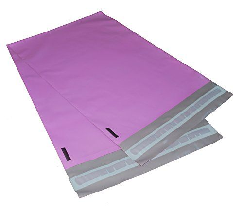 100 10x13 PINK Poly Mailers Shipping Envelopes Bags By Va...