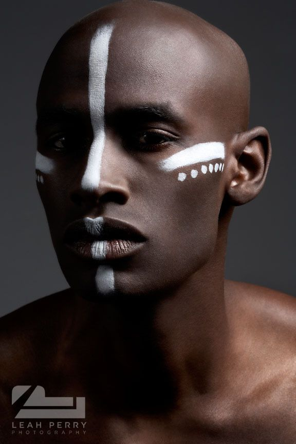 War Paint by Leah Perry, via Behance