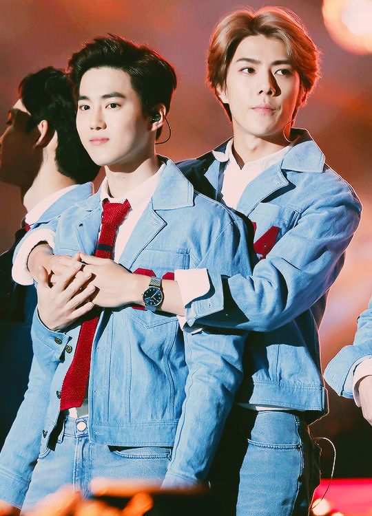 One K Concert 151009 : Suho and Sehun