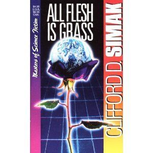 All Flesh Is Grass (Masters of Science Fiction):   A mysterious invisible barrier suddenly encloses a small, out-of-the-way American town. It's been put there by a galactic intelligence intent on imposing harmony and cooperation on the different peoples of the universe. But to the inhabitants, the barrier evokes stark terror.