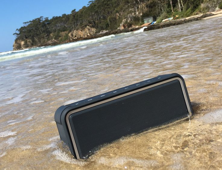 This is a multi-dimensional waterproof speaker that comes with 20 amazing features.