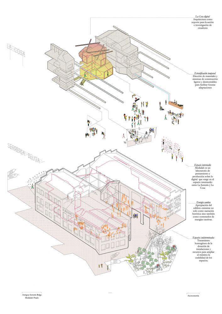 Medialab-Prado / Langarita Navarro Arquitectos