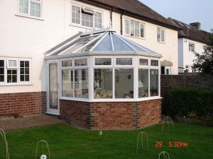 How to change an existing polycarbonate conservatory roof